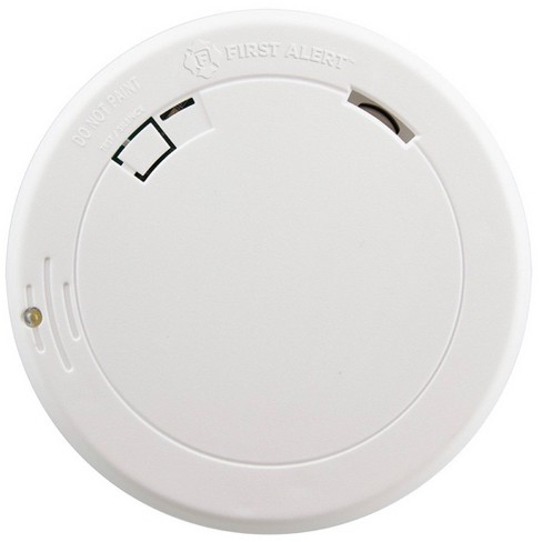 First Alert Ten Year Photoelectric Smoke Detector with LED Escape Dectector - image 1 of 4