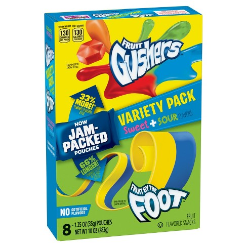 Fruit Gushers® Sweet & Sour Variety Pack - 12oz - image 1 of 1