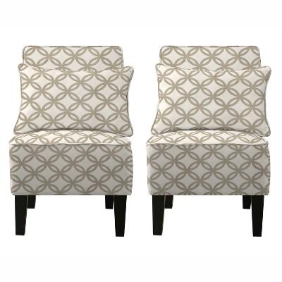 Bryce Chair Set with Bonus Pillows - Barley Tan - Handy Living