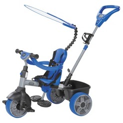 Little Tikes 4 in 1 Basic Edition Ride-On - Blue