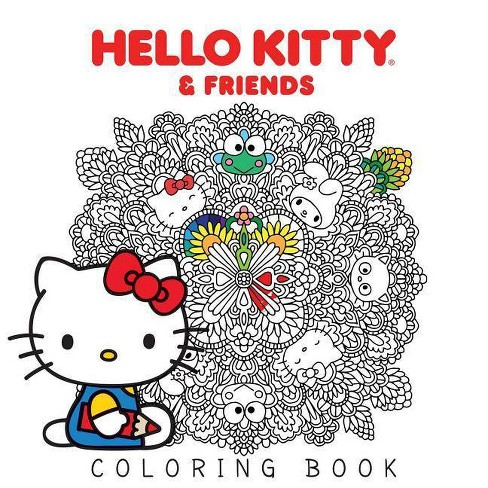 Hello Kitty Friends Coloring Book By Various Paperback