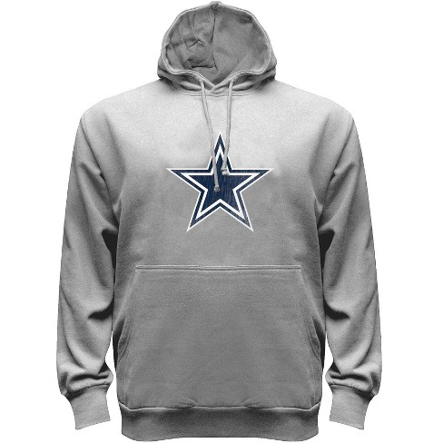 huge selection of 300fe 6cef4 Dallas Cowboys Men's Gray Dallas Cowboys Big & Tall Fleece Hoodie 5XL