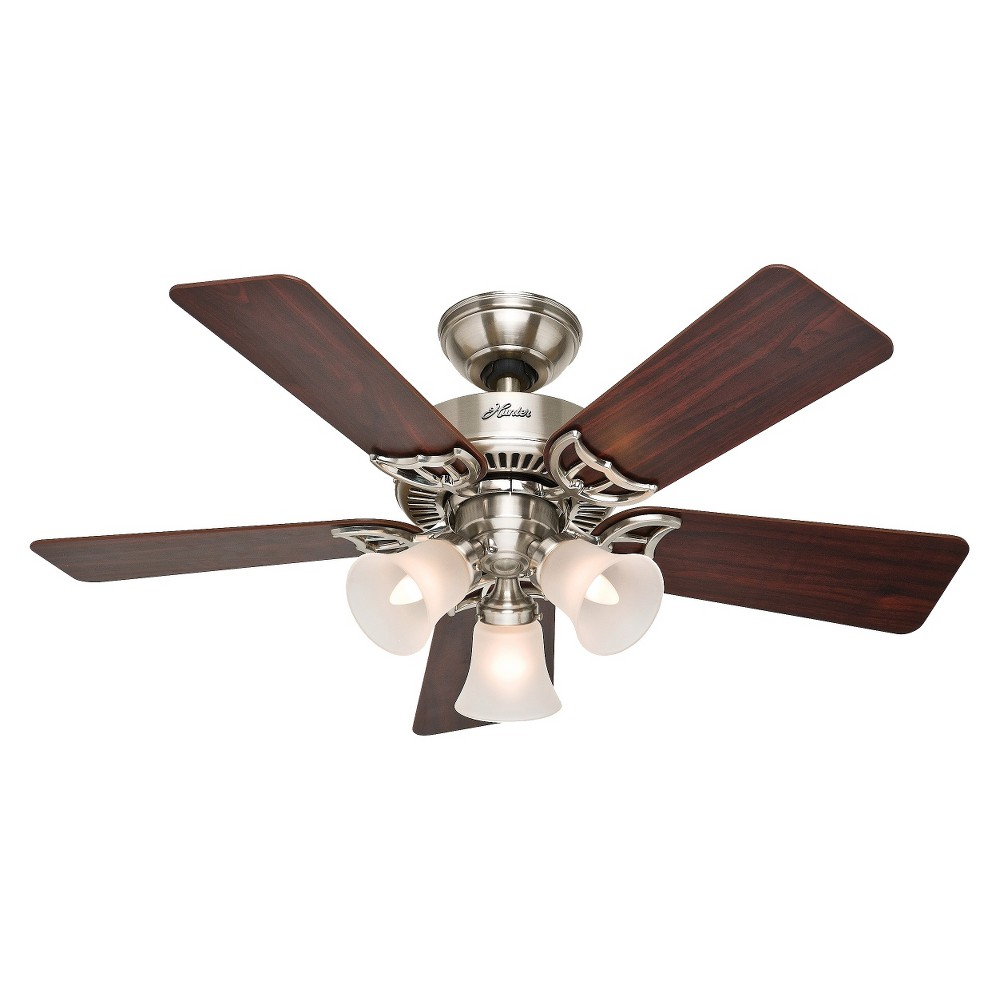 Southern Breeze Lighted Ceiling Fan Brown - Hunter Fan