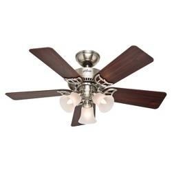 Southern Breeze LED Lighted Ceiling Fan Brown - Hunter Fan