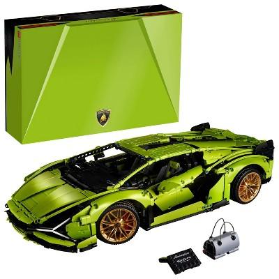 LEGO Technic Lamborghini Sin FKP 37 Model Car Building Kit, Build and Display Set 42115