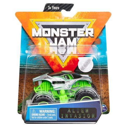 Monster Jam 1:64 Single Pack Assorted - Alien Invasion AF - image 1 of 4