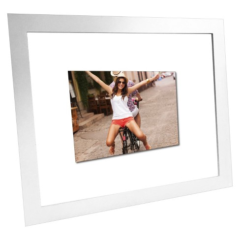 Float Frame White 16x20 Glass For 11x14 Photo Room Essentials