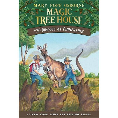 Dingoes at Dinnertime - (Magic Tree House) by  Mary Pope Osborne (Paperback) - image 1 of 1