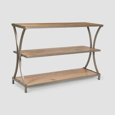 Kimball Modern Industrial Console Table Natural - Christopher Knight Home