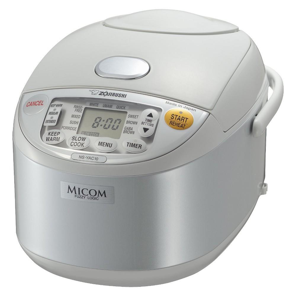 Zojirushi Pearl White Umami Micom Rice Cooker & Warmer – 5.5 cups 14007121
