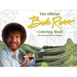 The Official Bob Ross Coloring Book - (Paperback)