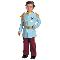 Disney Prince Charming Kids' Costume Blue - Small