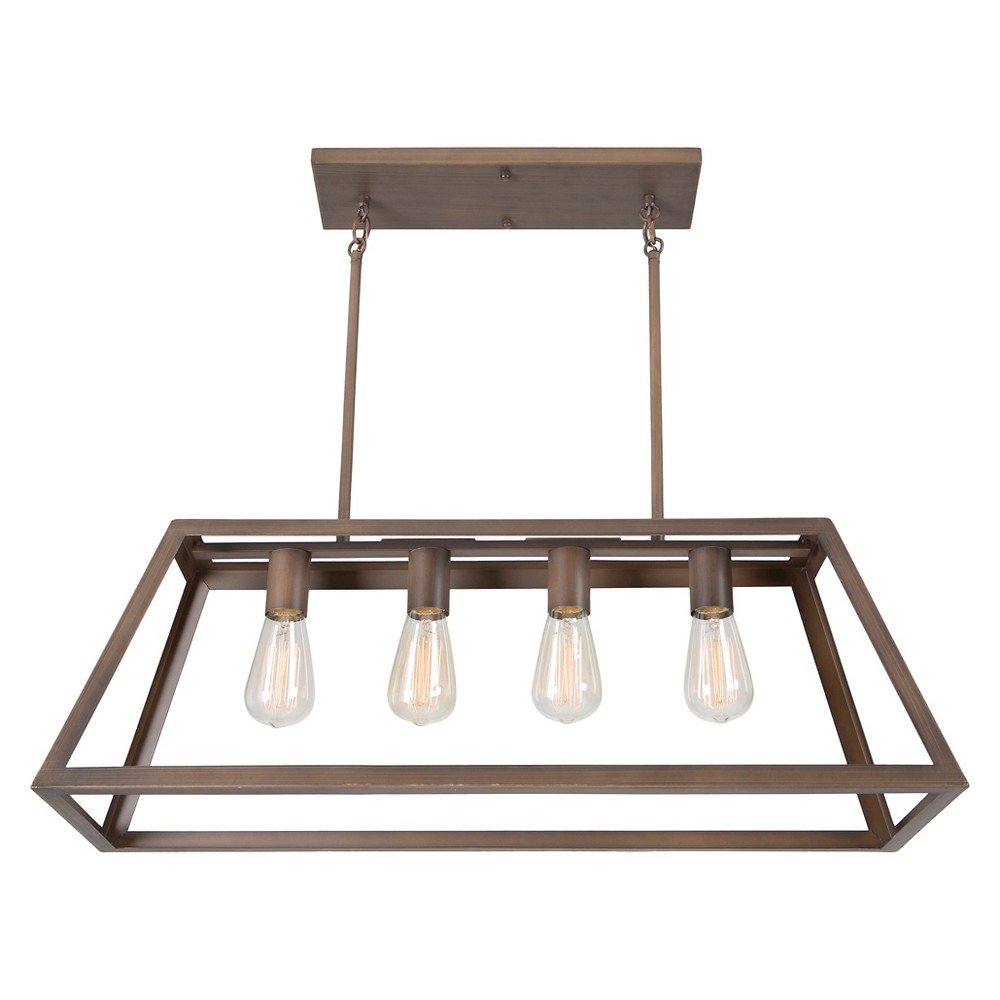 Yosemite 4-Light Chandelier - Oil Rubbed Bronze