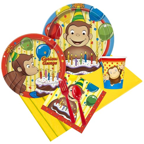 8ct Curious George Party Pack - image 1 of 1