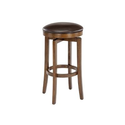 Brendan Backless Hardwood Counter Height Barstool Brown/Cherry - Hillsdale Furniture