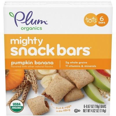 Plum Organic Mighty Pumpkin Banana Baby Snacks - 6ct/0.67oz Each