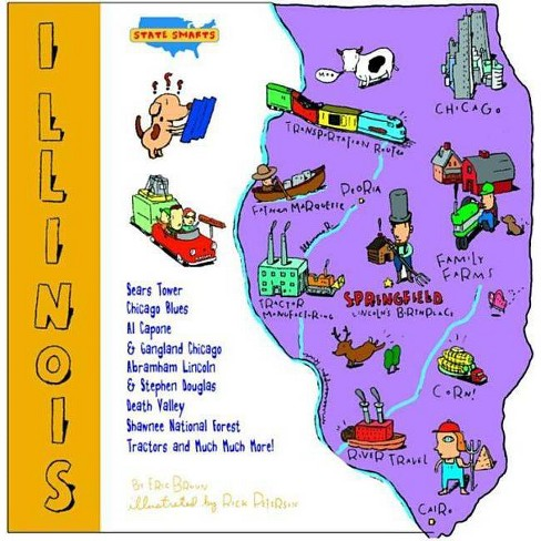State Shapes: Illinois - by  Erik Bruun (Hardcover) - image 1 of 1