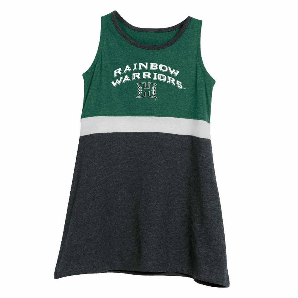 NCAA Toddler Dress Hawaii Rainbow Warriors - 3T, Toddler Girl's, Multicolored