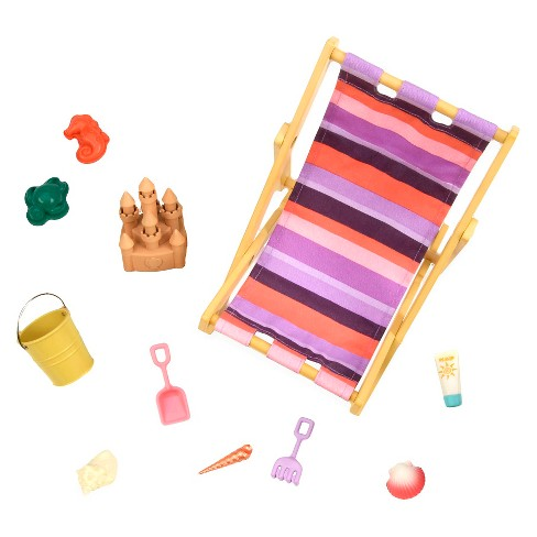 Our Generation® Beach Chair Accessory Set - image 1 of 2
