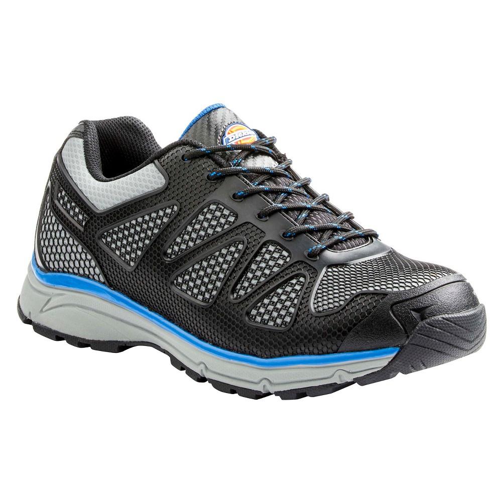 Men's Dickies Fury Work Boots - Black/Blue 8.5