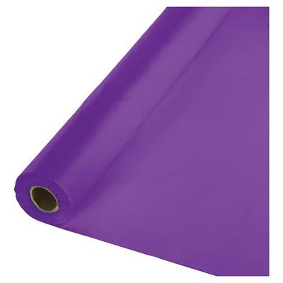 Amethyst Purple Plastic Banquet Roll