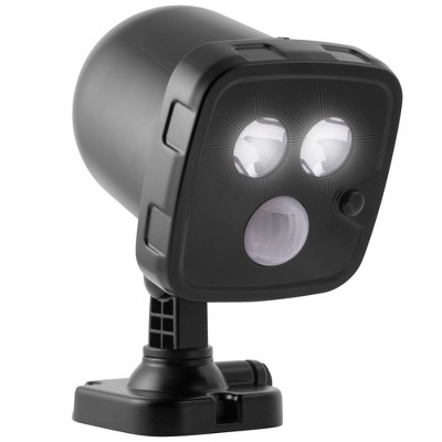 Energizer 300 Lumens LED Motion Sensing Spotlight Landscape Ground Lights Black