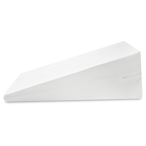 "Bed Wedge Support Pillow (24""x22"") White - SensorPedic® - image 1 of 4"