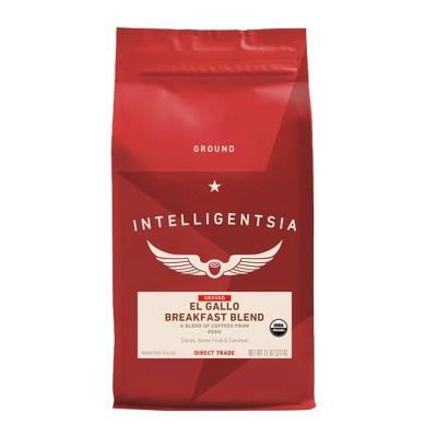 Intelli Organic El Gallo Light Roast Ground Coffee - 11oz