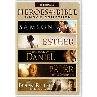 Heroes of the Bible 5-Movie Collection (DVD)