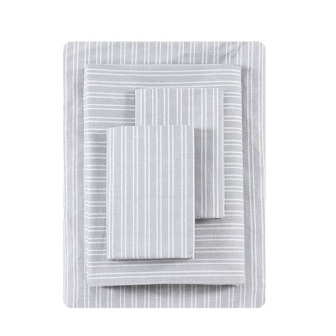 Queen Printed Pattern Percale Sheet Set Linen Texture Stripe Ed Ellen Degeneres Target
