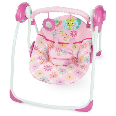 Bright Starts™ Butterfly Dreams Portable Swing - Pink