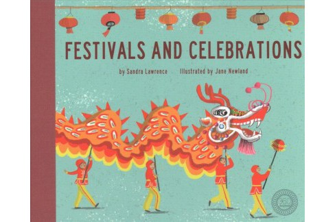 Festivals and Celebrations -  (360 Degrees) by Sandra Lawrence (Hardcover) - image 1 of 1