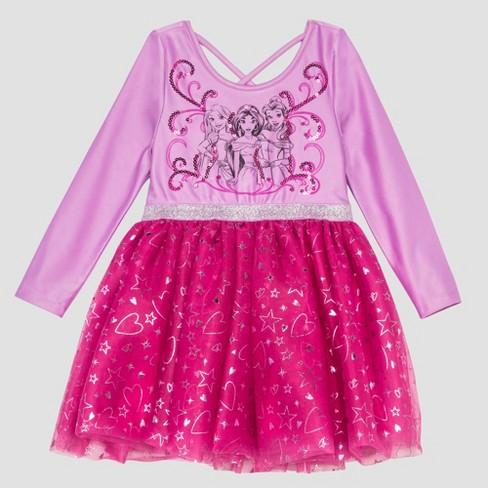 0f705fc031 Toddler Girls  Disney Princess Tutu Dress - Purple   Target