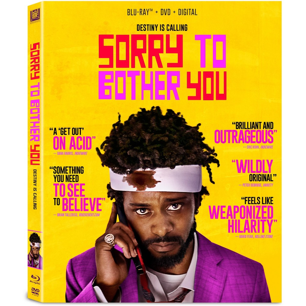 Sorry To Bother You Blu Ray Dvd Digital