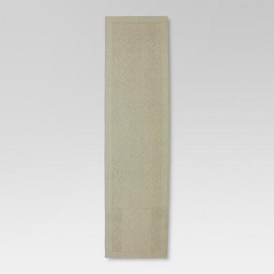 1'10 x7' Solid Runner Khaki - Threshold™