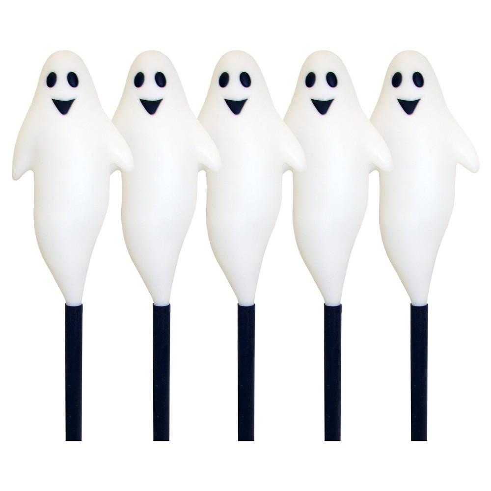 Halloween Ghost Path Lights - 5 ct