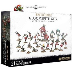Games Workshop Warhammer 40,000 Gloomspite Gitz: Caveshroom Loonz