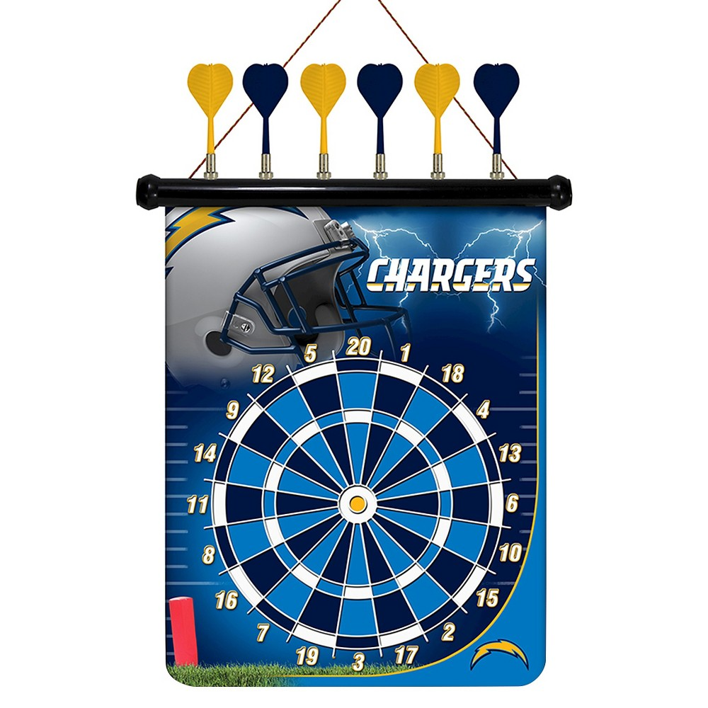 Los Angeles Chargers Rico Industries Magnetic Dart Set