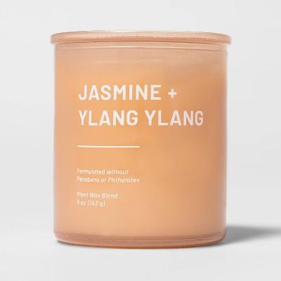 5oz Glass Jar Jasmine and Ylang Candle - Project 62™