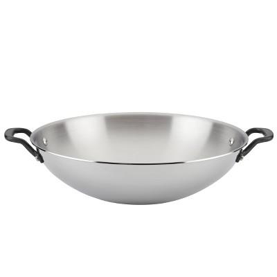 "KitchenAid 5-Ply Clad Stainless Steel 15"" Wok"