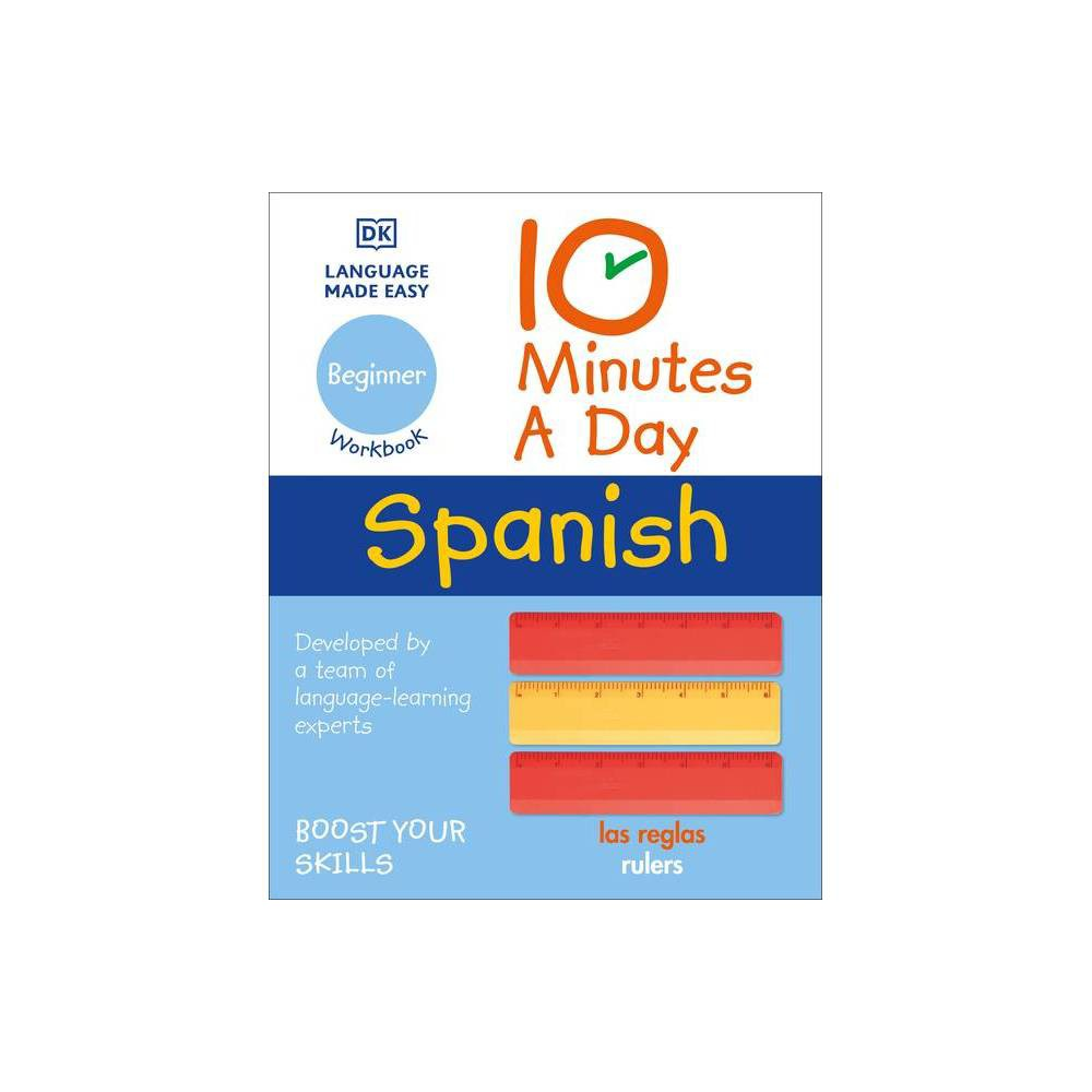 10 Minutes A Day Spanish For Beginners Paperback