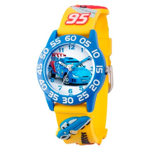 Kid's Disney® Cars Watch - Yellow - image 1 of 1