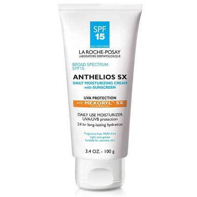 La Roche Posay Anthelios SX Daily Face Moisturizer with Sunscreen - SPF 15 - 3.4oz