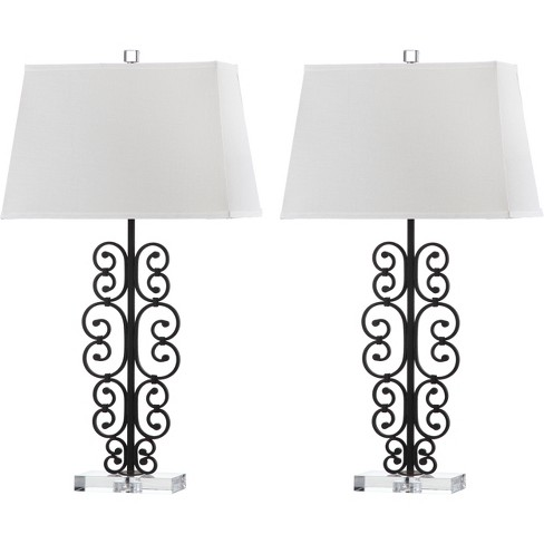 Metal Scrollwork Table Lamps (Set of 2) - Safavieh® - image 1 of 3