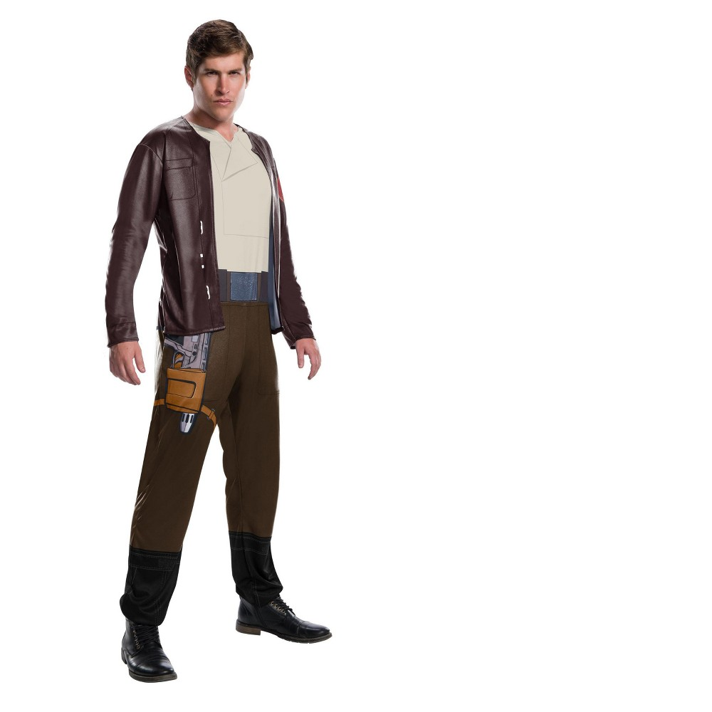 Star Wars Episode Viii - The Last Jedi Men's Poe Dameron Costume L, Multi-Colored