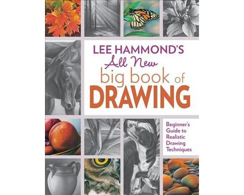 Lee Hammond's All New big book of Drawing : Beginner's Guide to Realistic Drawing Techniques - image 1 of 1