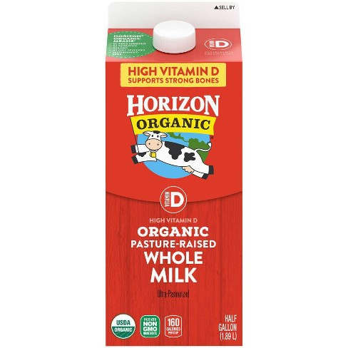 Horizon Organic Whole Milk - 0.5gal - image 1 of 4