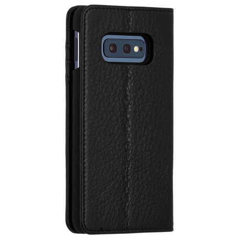 quality design 29781 cf361 Case-Mate Samsung Galaxy S10e Wallet Folio - Black Case