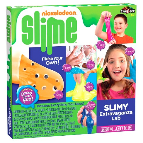 Nickelodeon Slime - Cra-Z-Slimy Extravaganza Lab - image 1 of 4