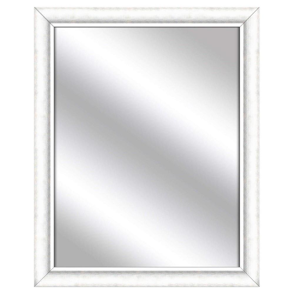 Decorative Wall Mirror Ptm Images White